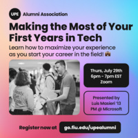 Making the Most of Your First Years in Tech