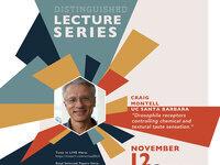 Brains & Behavior Distinguished Lecture: Craig Montell, Ph.D. UC Santa Barbara