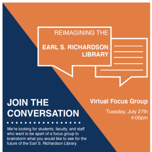 Reimagining the Richardson Library Focus Group