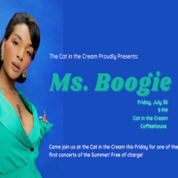 Ms. Boogie at the Cat!