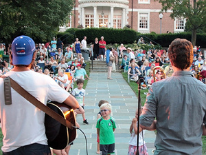 Live from the Lawn: Free Outdoor Concerts