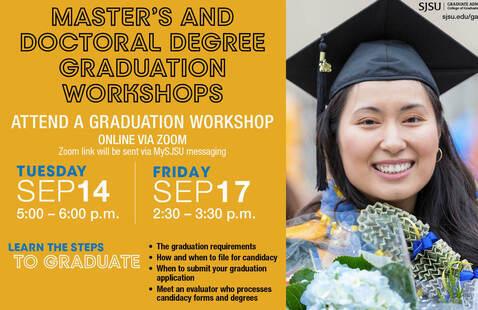 Graduation Workshop flyer