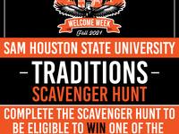 Traditions Scavenger Hunt