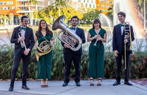 Stamps Brass Quintet (In-person audience limited to invited guests only)