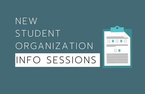 New Student Organization Information Session