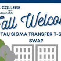 Tau Sigma Transfer T-shirt Swap