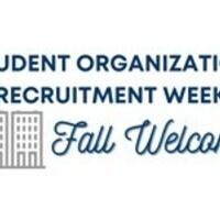 Student Organization Recruitment Week Tabling