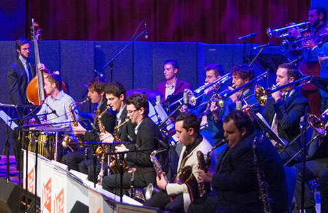 Intersections: Exploring Visual Art through Music—Frost Concert Jazz Band