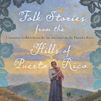 image of the front cover of Ocasio's book: Folk Stories from the Hills of Puerto Rico
