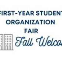 First Year Student Organization Fair