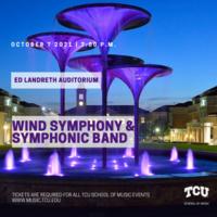 Ensemble Concert Series: Wind Symphony and Symphonic Band Concert