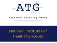 Grant Workshop: National Institutes of Health (NIH) Concepts