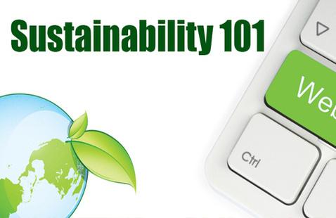 Sustainability 101 Webinar