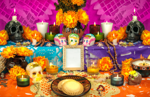 Day of the Dead Altar Display