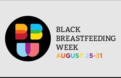 Black Breastfeeding Week Logo
