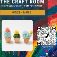 Craft Room: Pom Pom Cacti