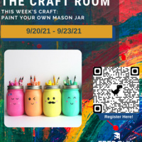 Craft Room: Paint Your Own Mason Jar