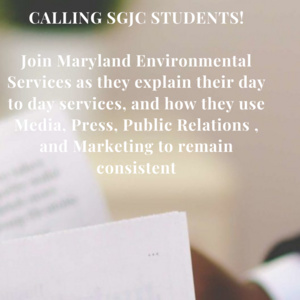 """""""Oh I Can Use My Degree For This Too?"""" Navigating the Job Hiring Process with Maryland Environmental Services"""