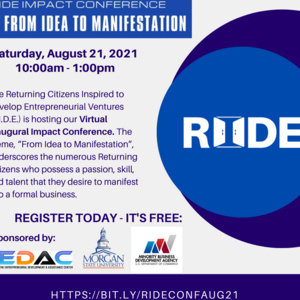 """RIDE Impact Conference """"From Idea to Manifestation"""