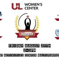 Women's Center Orientation