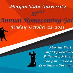 37th Annual Homecoming Gala (Live & Virtual)