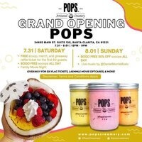 POPS Artisanal Creamery Grand Opening