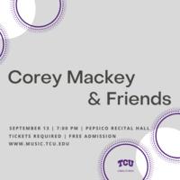 Faculty Recital Series: Corey Mackey, clarinet