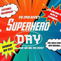The Open Book's Superhero Day
