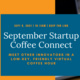 September Startup Coffee Conect