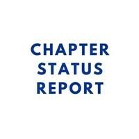 Chapter Status Report - Start of Semester