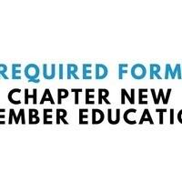 Chapter New Member Education