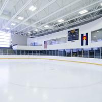 empty ice rink at CU Boulder