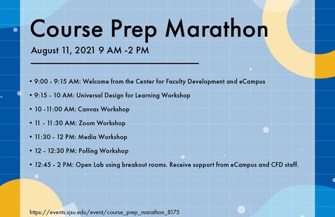 Course Prep Marathon