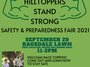 2021 Hilltoppers Stand Strong Safety & Preparedness Fair