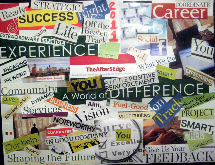 Career Pathway Vision Board Party at Trinity River Campus