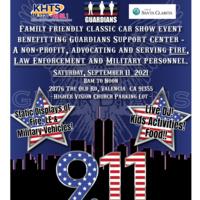 Guardians 911 Tribute Event Flyer