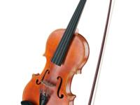 violin color image