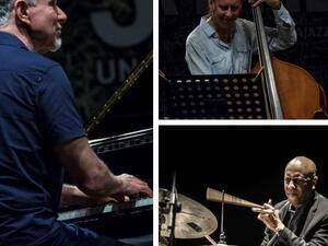 Jazz at Holmes: Marc Copland Trio with  Drew Gress & Billy Drummond