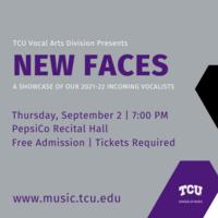 Student Recital Series: New  Incoming Vocal Student Recital
