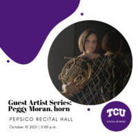 Guest Artist Series: Peggy Moran, horn
