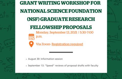 NSF GRFP Grant Writing Workshop Part II