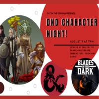 D&D Character Night!