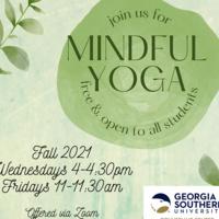 Image of Mindful Yoga flier
