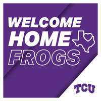 Welcome Home Frogs graphic