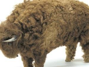 Photo Credit: Lakota toy buffalo, ca. 1870. 6/7936