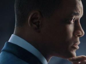 Actor Will Smith in a scene from the movie Concussion