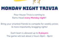 TRIVIA GAME NIGHT!