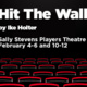 """""""Hit The Wall"""" - presented by NIU School of Theatre and Dance"""