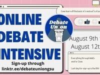 Online Debate Intensive by DebateUnionGSU