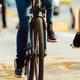 bikes on pavement